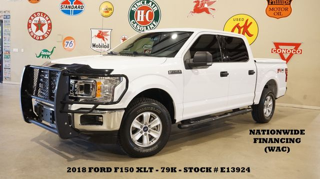 2018 Ford F-150 XLT 4X4 TX EDITION 5.0L,BACK-UP CAM,CLOTH,79K
