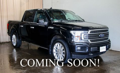 2018 Ford F-150 Limited 4x4 w/Navigation,  Heated/Cooled Seats, 360° Backup Camera, & Tow Pkg in Eau Claire
