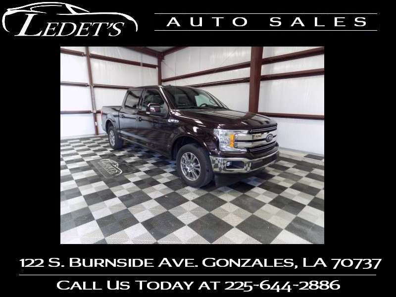 2018 Ford F-150 LARIAT - Ledet's Auto Sales Gonzales_state_zip in Gonzales Louisiana
