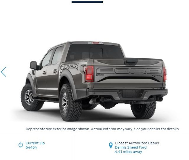 2018 Ford F-150 Raptor in Gower Missouri, 64454