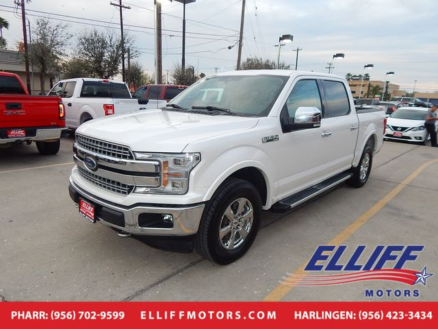2018 Ford F-150 LARIAT Crew Cab in Harlingen, TX 78550