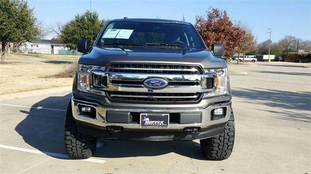 2018 Ford F-150 XLT LIFT W/CUSTOM WHEELS AND TIRES in McKinney Texas, 75070
