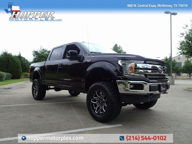 2018 Ford F-150 Lariat LIFT/CUSTOM WHEELS AND TIRES
