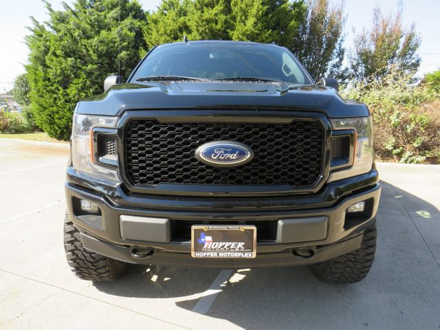 2018 Ford F-150 XLT CUSTOM LIFT/WHEELS AND TIRES in McKinney, Texas 75070