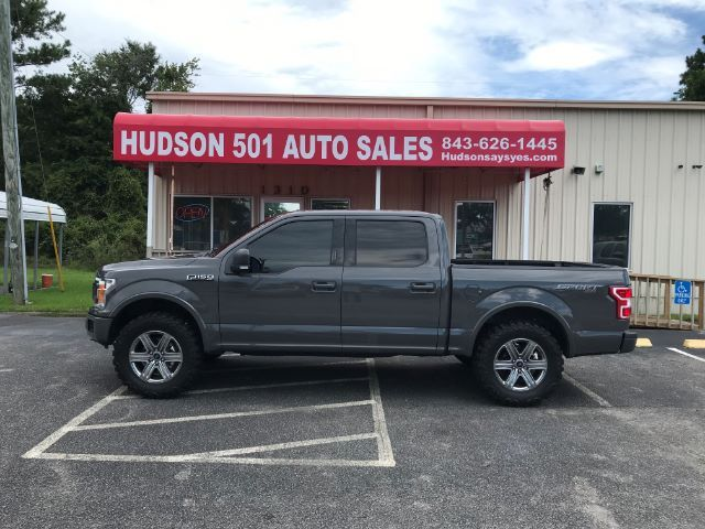 2018 Ford F-150 XLT | Myrtle Beach, South Carolina | Hudson Auto Sales in Myrtle Beach South Carolina