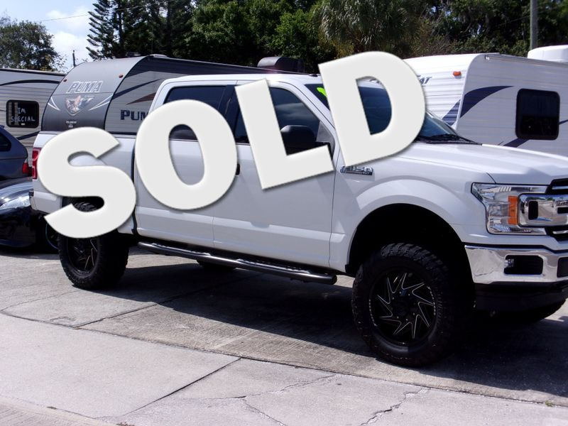 2018 Ford F-150 XLT 6 lift 20x35x125 tires  city FL  Manatee RV  in Palmetto, FL