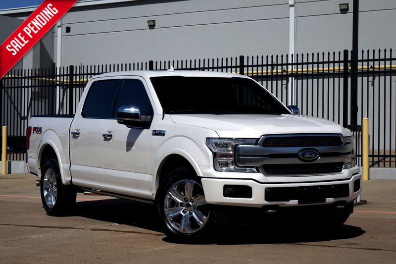 2018 Ford F-150 Platinum*Loaded*4x4*Nav*BU Cam* Sunroof*EZ Fin** | Plano, TX | Carrick's Autos in Plano TX