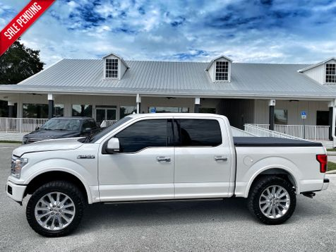 2018 Ford F-150 LIMITED 4X4 3.5L ECOBOOST CREWCAB CARFAX CERT in Plant City, Florida