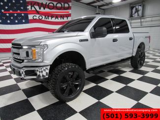2018 Ford F-150 XLT 4x4 EcoBoost LIFTED Silver 22's Low Miles NICE in Searcy, AR 72143