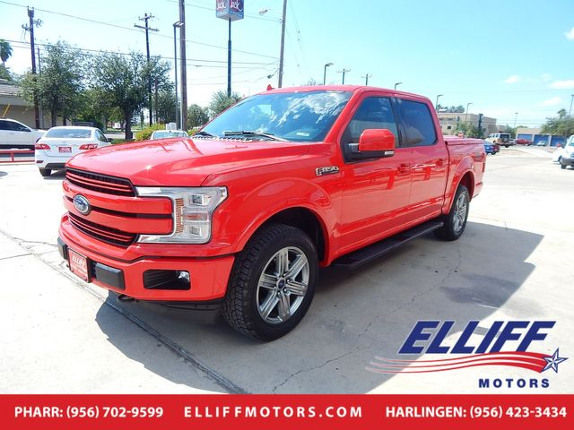 2018 Ford F-150 SUPER CREW LARIAT in Harlingen, TX 78550