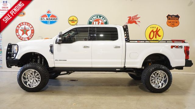 2018 Ford F-250 Platinum 4X4 LIFTED,BUMPERS,360 CAM,FUEL WHLS,16K