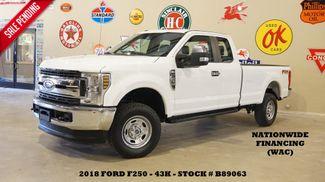 2018 Ford F-250 XL 4X4 6.2L,BACK-UP CAM,VINYL,43K,WE FINANCE in Carrollton, TX 75006
