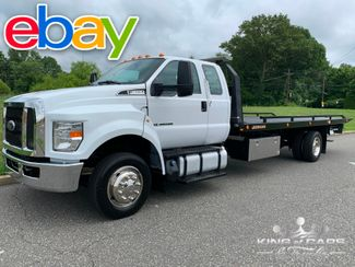 2018 Ford F-650 Ext Cab JERRDAN 2 CAR ROLLBACK LIKE NEW in Woodbury, New Jersey 08093