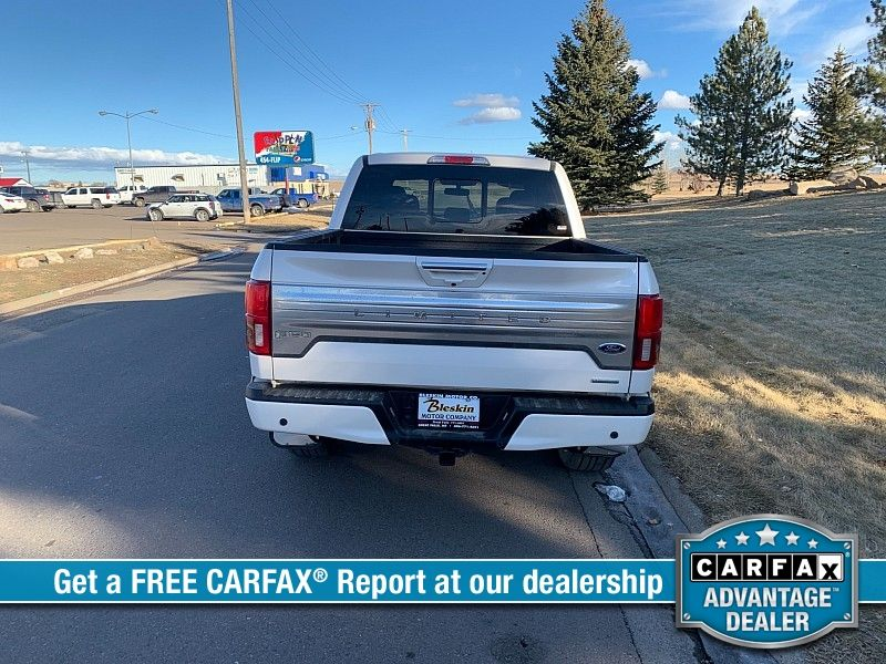2018 Ford F150 4WD SuperCrew Limited  city MT  Bleskin Motor Company   in Great Falls, MT