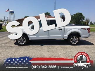 2018 Ford F150 4X4 SUPERCREW in Mansfield, OH 44903