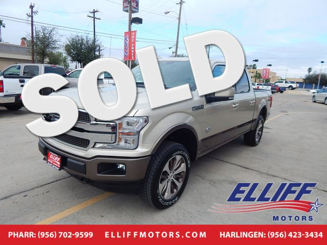 2018 Ford F-150 King Ranch FX4 Crew Cab