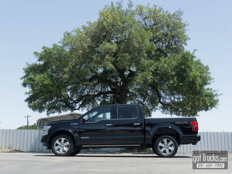 2018 ford f 150 platinum owners manual