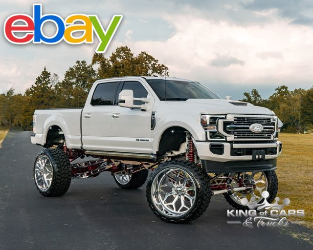 """2018 Ford F250 Diesel 4x4 PLATI 30"""" FORCES 42"""" TIRES 16-20"""" LIFT BEST OF BEST in Woodbury, New Jersey 08093"""