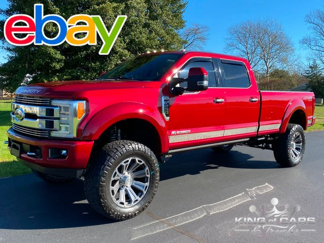 2018 Ford F250 Limited Crew 6.7L DIESEL 4X4 8' BED 38K MILE LIFTED WOW