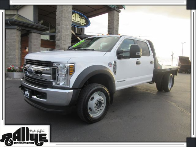 2018 Ford F450 XLT C/Cab 4WD Flatbed Dually 6.7L Diesel in Burlington WA, 98233