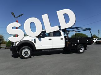 2018 Ford F450 Crew Cab 9' Flatbed 4x4 Diesel in Lancaster, PA PA