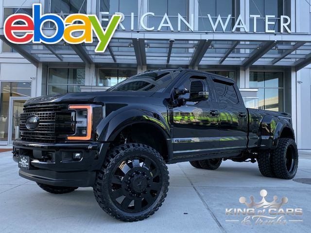 "2018 Ford F450 Platinum LIFTED 6.7L DIESEL 25K MILES FRESH BUILD 26"" FORCES"