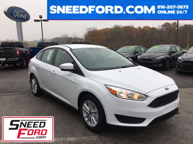 2018 Ford Focus SE Sedan 1.0L ECOBOOST