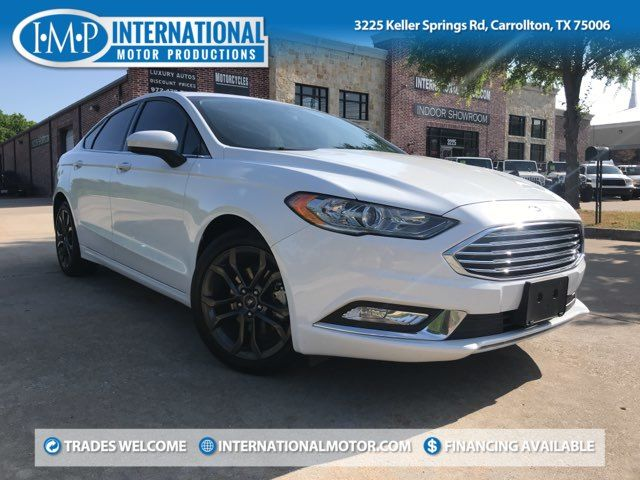 2018 Ford Fusion SE ONE OWNER
