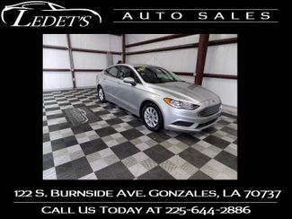 2018 Ford Fusion S - Ledet's Auto Sales Gonzales_state_zip in Gonzales