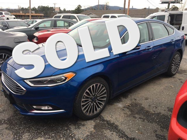 2018 Ford Fusion Titanium - John Gibson Auto Sales Hot Springs in Hot Springs Arkansas