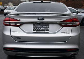 2018 Ford Fusion Hybrid Titanium Waterbury, Connecticut 4