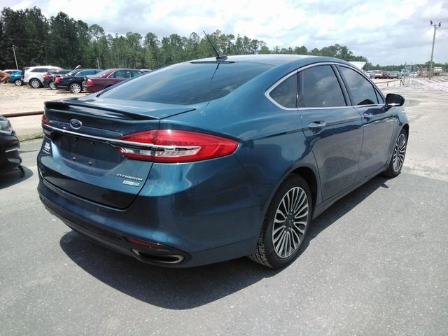 2018 Ford Fusion Titanium Madison, NC 1