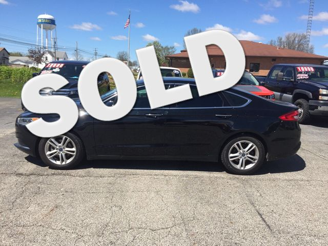 2018 Ford Fusion SE Ontario, OH