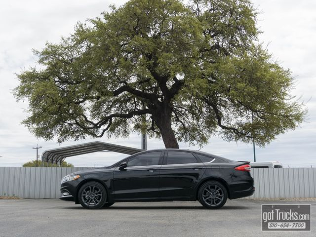 2018 Ford Fusion SE EcoBoost
