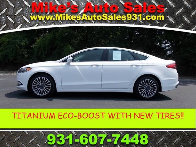 2018 Ford Fusion Titanium Shelbyville, TN