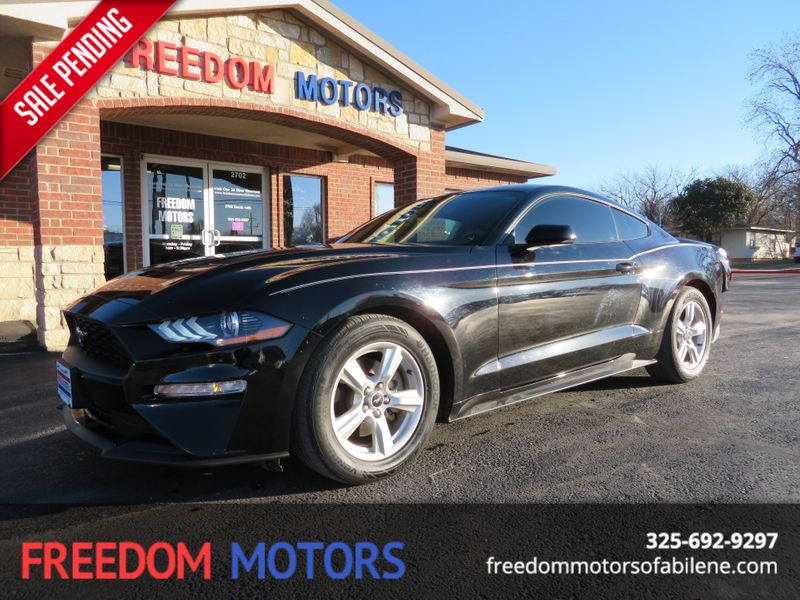 2018 Ford Mustang EcoBoost Premium Pkg | Abilene, Texas | Freedom Motors  in Abilene Texas