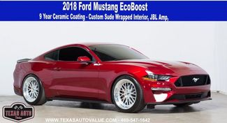 2018 Ford Mustang EcoBoost 9 Year Ceramic Coating, LOTS OF UPGRADES in Dallas, TX 75001