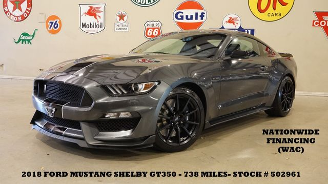 2018 Ford Mustang Shelby GT350 MSRP 61K,NAV,HTD/COOL LTH,738 MILES