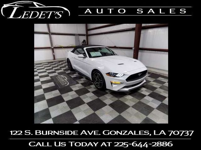2018 Ford Mustang EcoBoost Premium - Ledet's Auto Sales Gonzales_state_zip in Gonzales