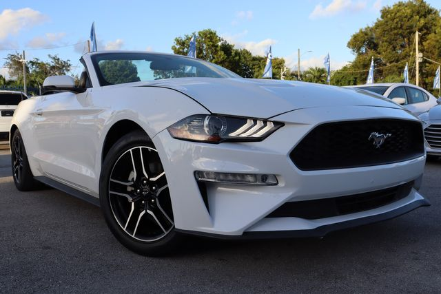 2018 Ford Mustang EcoBoost Premium in Miami, FL 33142