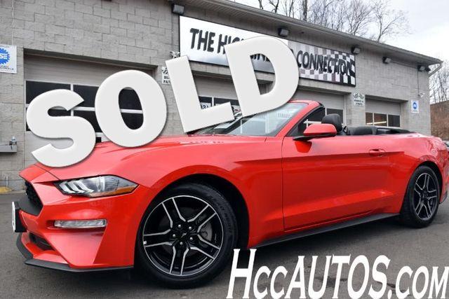 2018 Ford Mustang EcoBoost Premium Waterbury, Connecticut