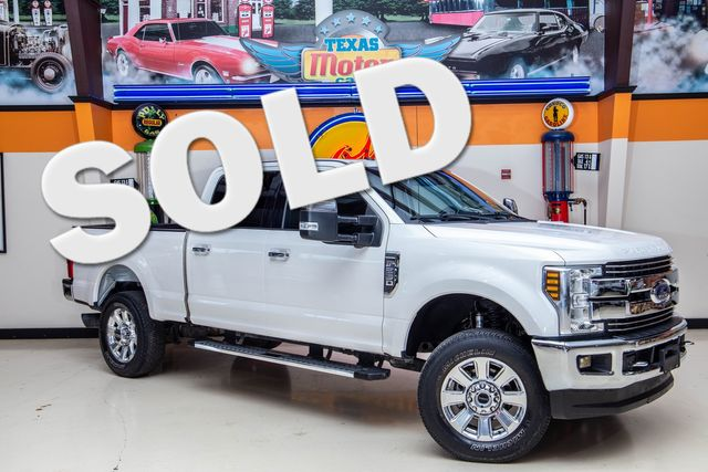 2018 Ford Super Duty F-250 LARIAT SRW 4x4