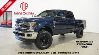 2018 Ford F-250 LARIAT 4X4 DIESEL,LIFTED,ROOF,360 CAM,BLK WHLS,71K in Carrollton, TX 75006