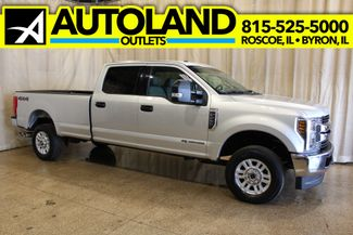 2018 Ford Super Duty F-250 Diesel 4x4 longbed XLT 6.7L Power Stroke Turbo Diesel in Roscoe, IL 61073