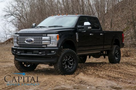 2018 Ford F-250 Super Duty Platinum 4x4 w/37