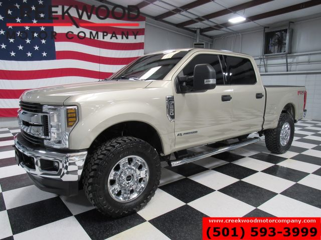 2018 Ford Super Duty F-250 XLT 4x4 FX4 Diesel Tan Chrome 20s Leveled Nav NICE in Searcy, AR 72143