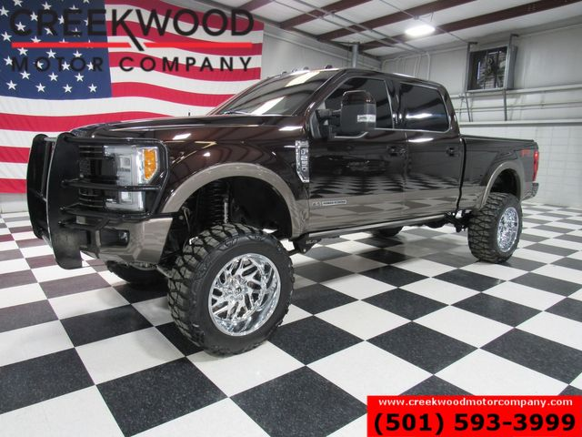 2018 Ford Super Duty F-250 King Ranch 4x4 Diesel 22s LIFTED 1 Owner Low Miles