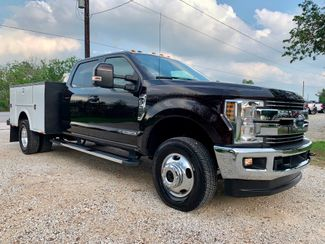 2018 Ford Super Duty F-350 DRW Lariat Crew Cab 4X4 6.7L Powerstroke Diesel Auto Stahl Utility Bed in Sealy, Texas 77474