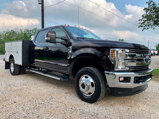 2018 Ford Super Duty F-350 DRW Lariat Crew Cab 4X4 6.7L Powerstroke Diesel Auto Stahl Utility Bed