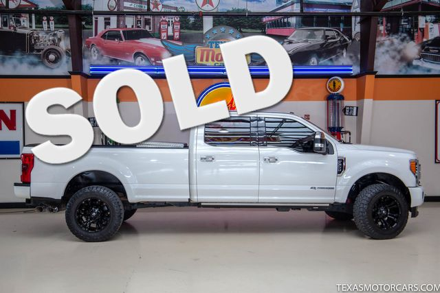 2018 Ford Super Duty F-350 SRW Pickup Platinum